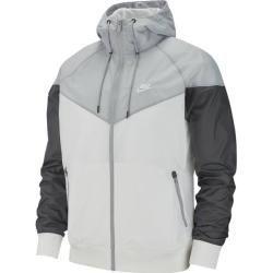Photo of Giacca da uomo Nike Windrunner, taglia XL in bianco / grigio lupo / grigio scuro / bianco, taglia XL in bianco / lupo Gr