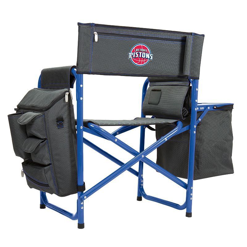 Outdoor Picnic Time Detroit Pistons Fusion Chair,