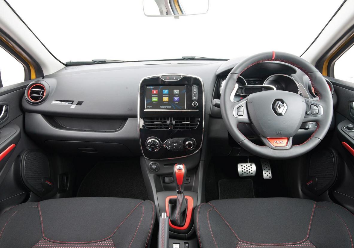 Interior of the #Clio Renaultsport 200  #Renault #cars