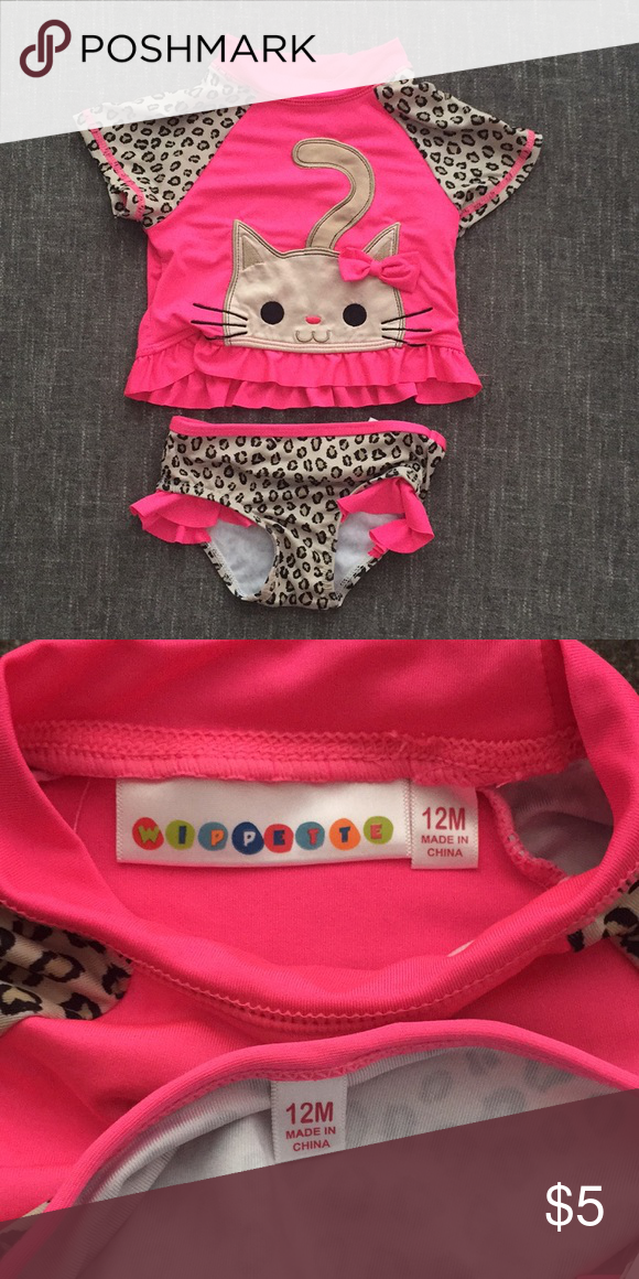 Bathing Suit 12 Months Baby Girl Bathing Suits Baby Bikini Baby Month By Month