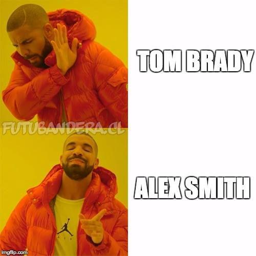 Alex Smith Tom Brady Memes New Year Meme Funny Memes
