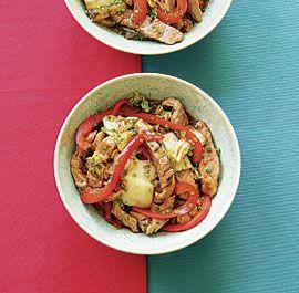 Hoisin Pork with Napa Cabbage
