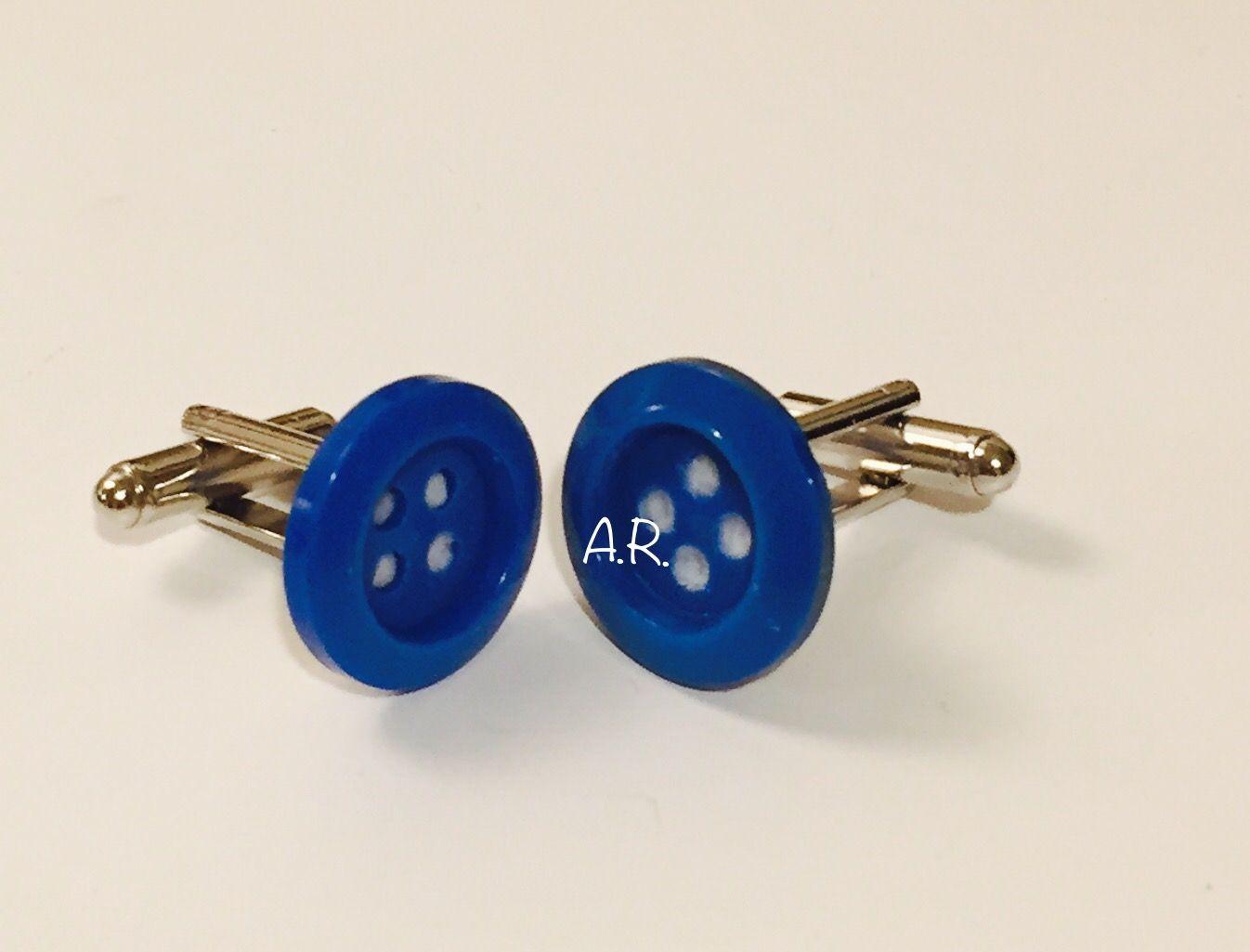 Gemelli o bottoni? Colori vintage_Azzurro mare