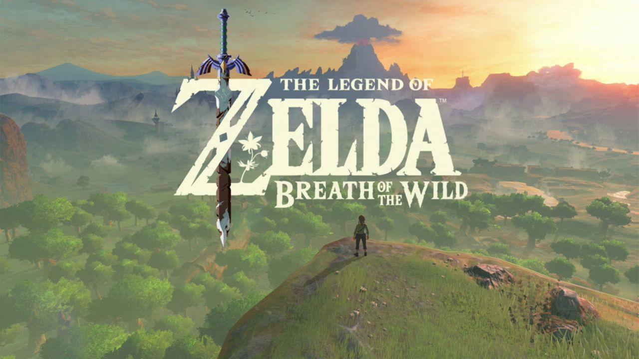 Titel zu The Legend of Zelda Breath of the Wild.