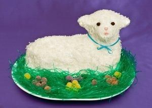 Decorating Ideas For Easter Cakes Lamb Cake Polish Desserts