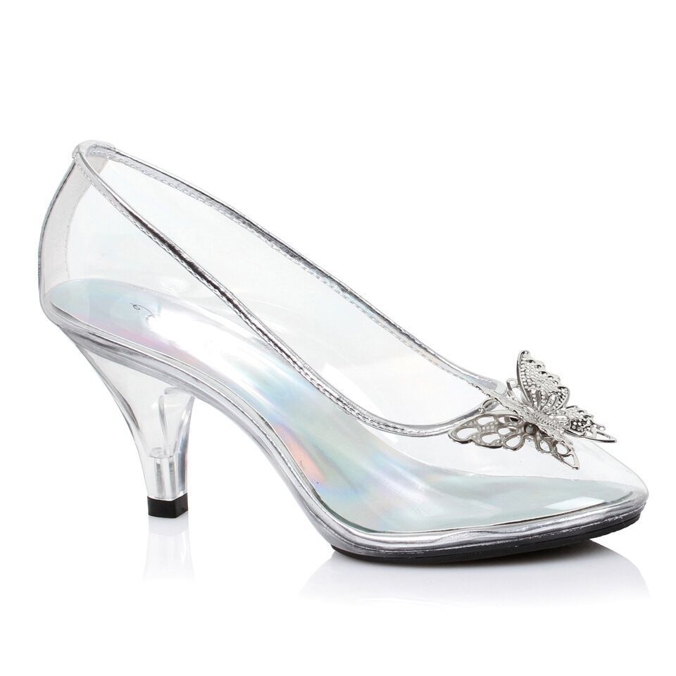 Clear Glass Slippers Cinderella Shoes Disney Wedding Princess Bridal High Heels Cinderella Shoes Cinderella Wedding Shoes Glass Slipper Cinderella