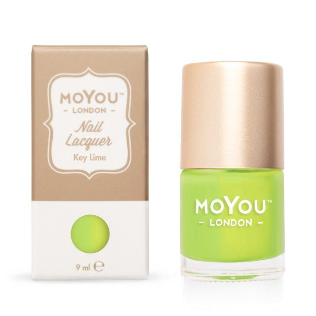 Stamping Nail Lacquer - Key Lime