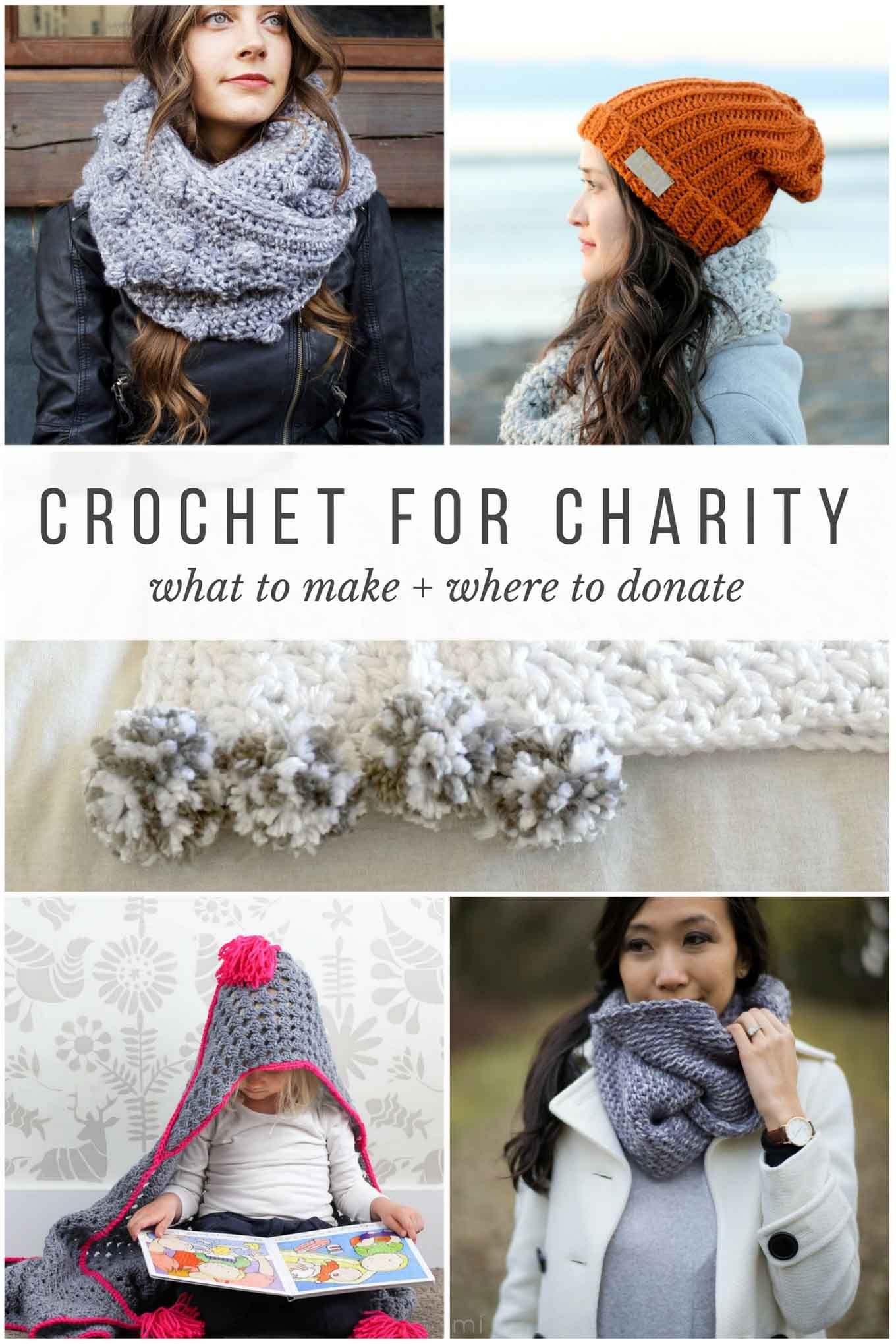Crocheting and Knitting for Charity - What to Make + Where to Donate ...
