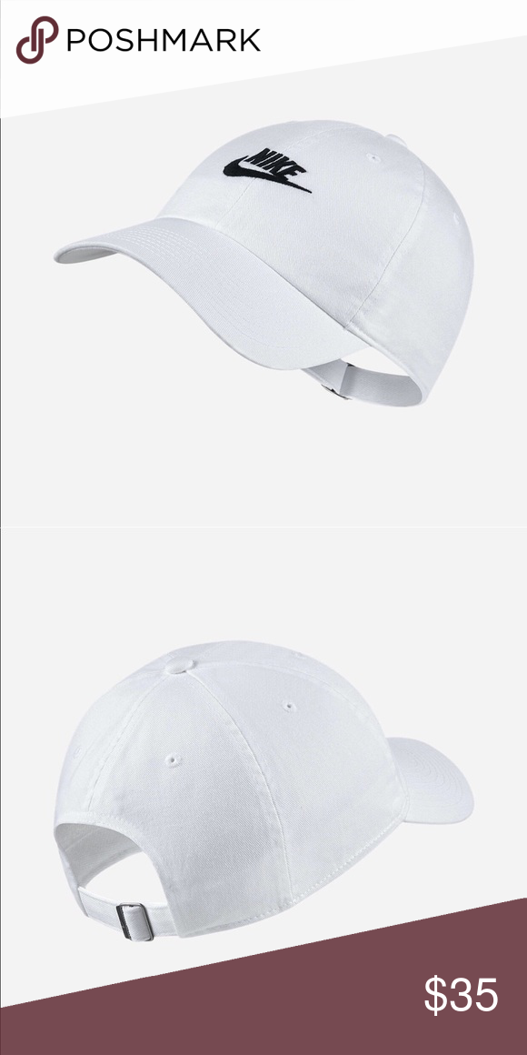 c47f8939 NIKE SPORTSWEAR HERITAGE 86 DAD HAT NWT WHITE Brand new. 100 % authentic  directly from Nike. Adjustable Nike Accessories Hats