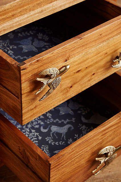 Devils in the details... Passerine Nightstand - anthropologie.com