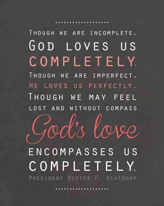 Though We Are Imperfect He Loves Us Perfectly Lds Mormon Quotes Custom Imperfect Love Quotes