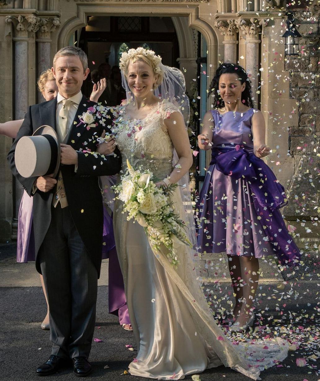 Amanda Abbington Sherlock Wedding Dr. Watson'...