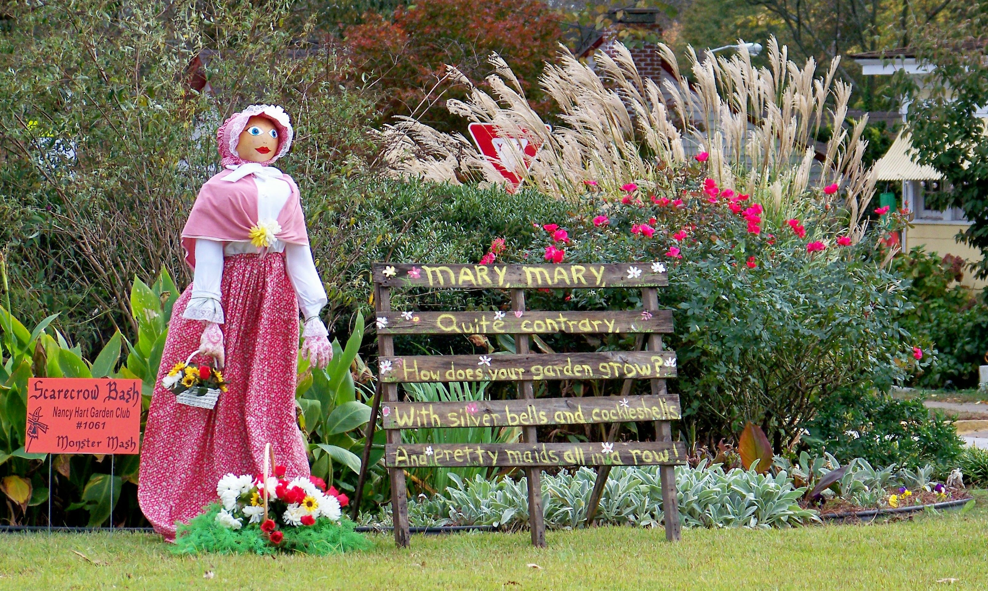 MARY, MARY, QUITE CONTRARY, SCARECROW, HARTWELL, GA 10