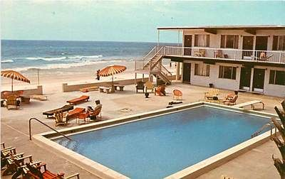 Postcard Of The Ebb Tide Motel Panama City Beach With Images