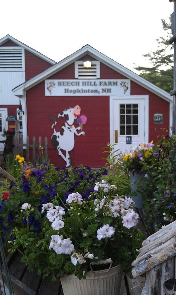 Beech Hill Farm Ice Cream Barn Hopkinton Nh Www Beechhillfarm
