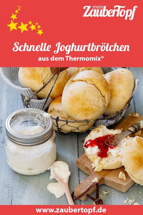 Schnelle Joghurtbrötchen – Rezept für den Thermomix