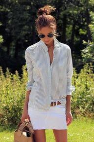 Light summery stripes