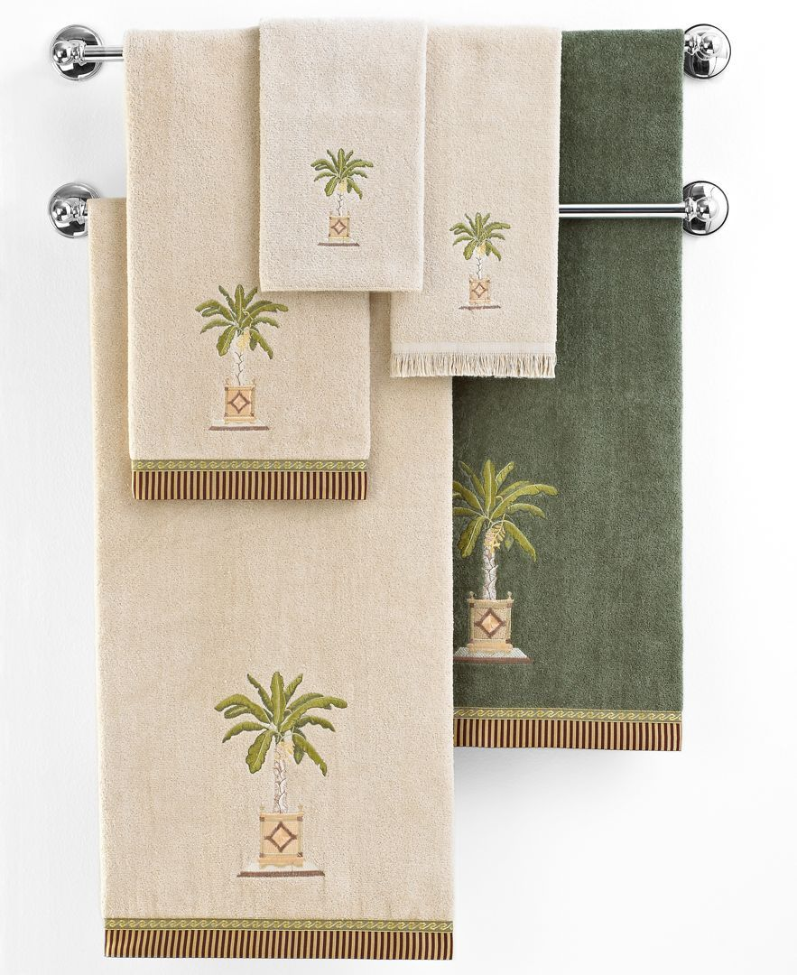 Avanti Banana Palm Bath Towel 25x50 Hand