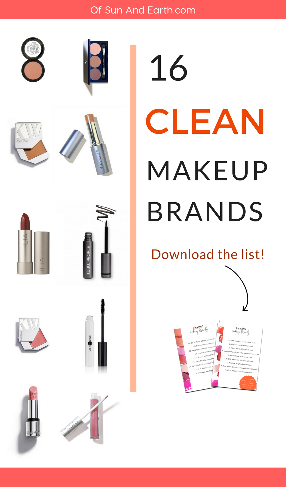 Are you cleaning up your makeup act and want to know about