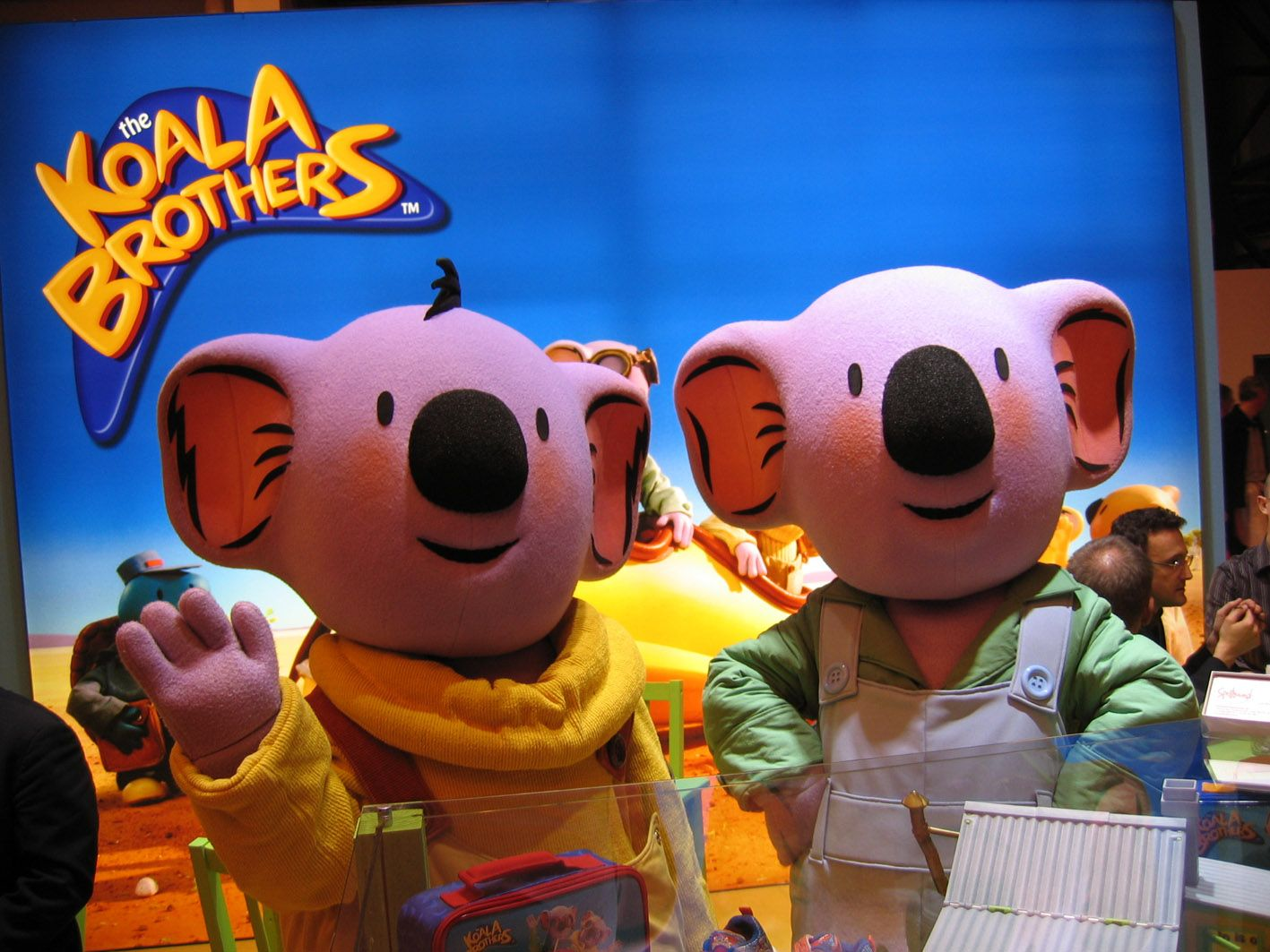 Buster & Frank from The Koala Brothers #mascot #costume