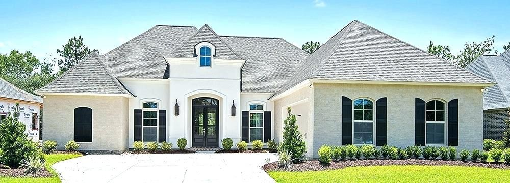 Image Result For White Brick House With Black Trim Stucco Homes