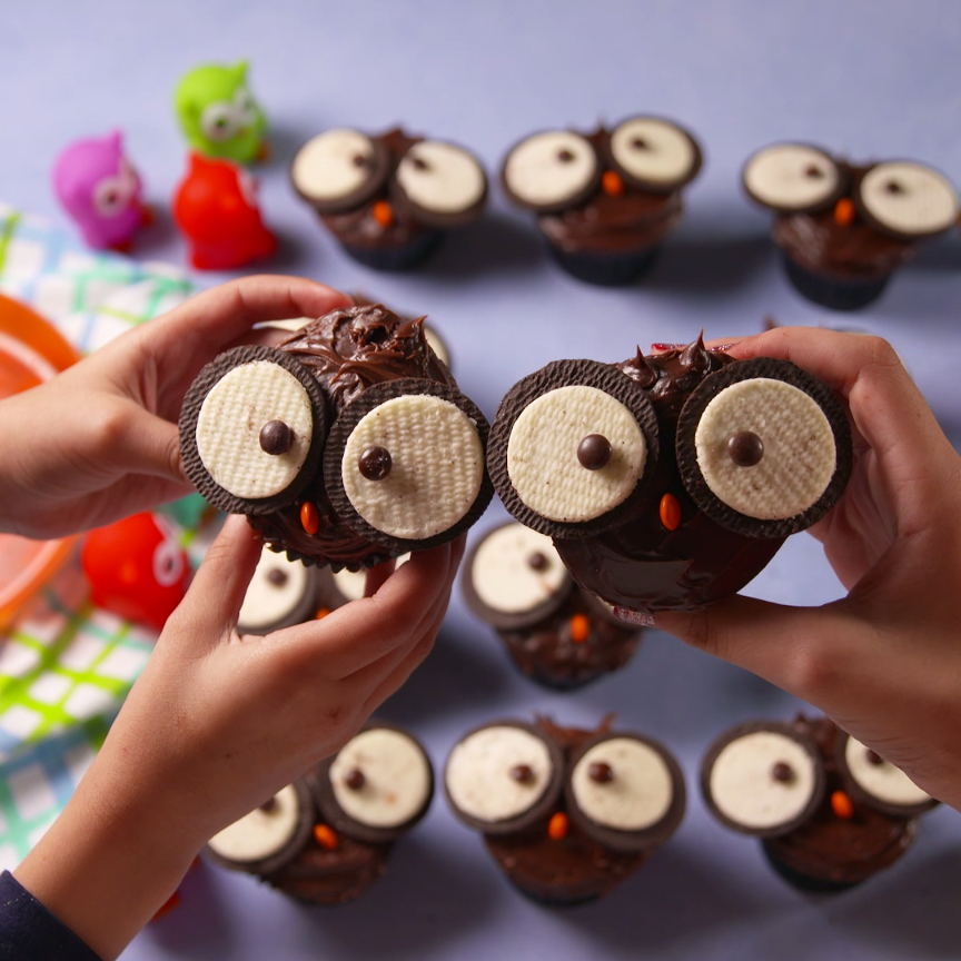 Photo of Owl Cupcakes