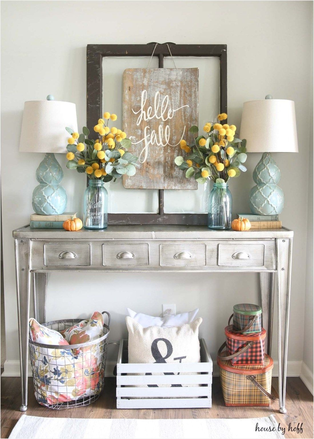 41 Inexpensive Decorating Ideas Fall Entryway | Pinterest | Fall ...