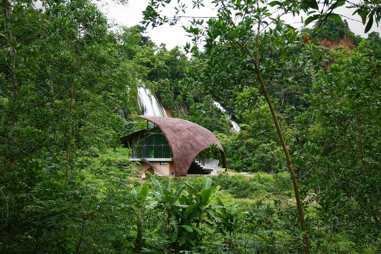 Gallery Of Chieng Yen Community House 1 1 2 8 Community Housing Green Architecture Thatched Roof