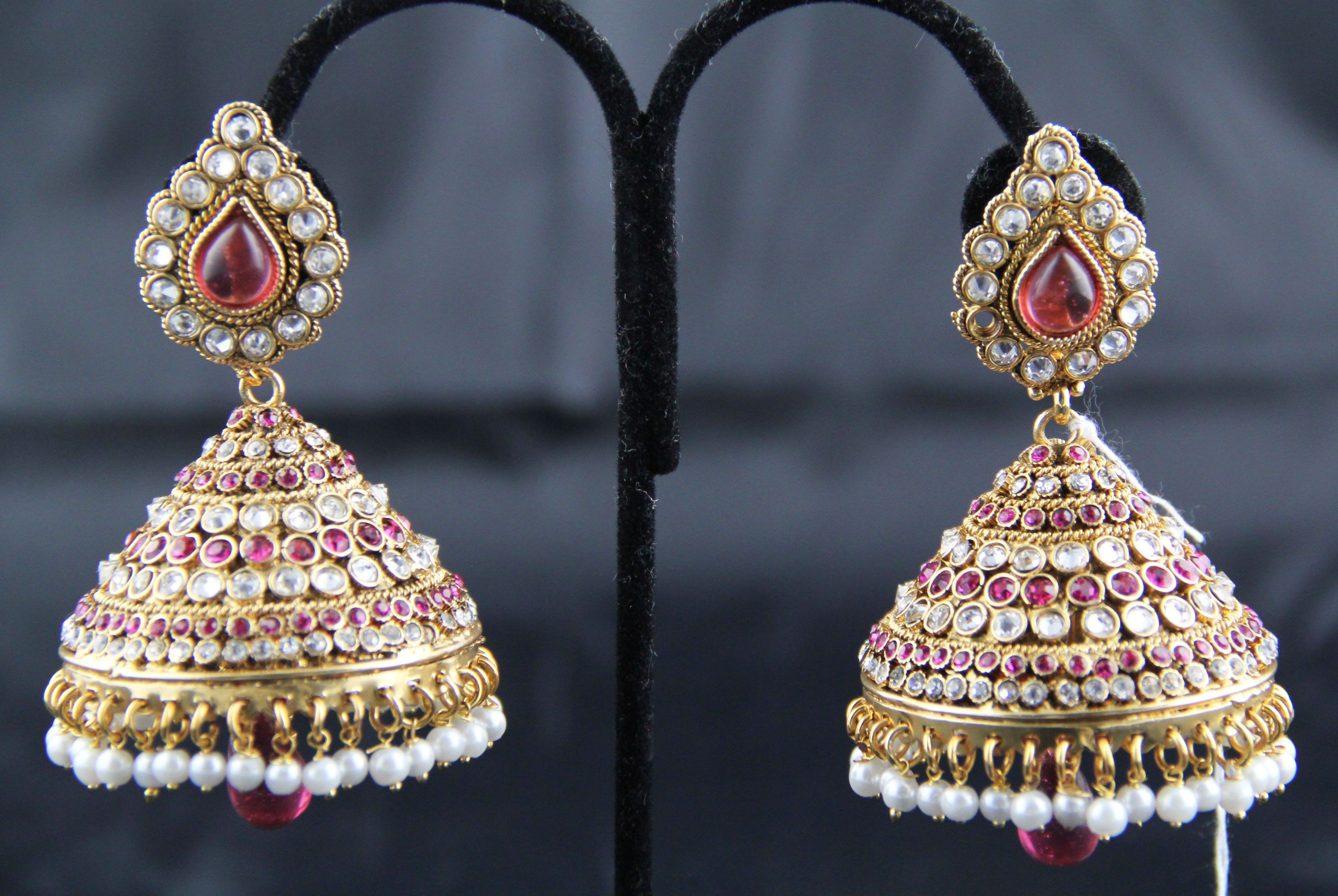 indian jewelry jhumka earrings | Accessories | Pinterest | Indian ...