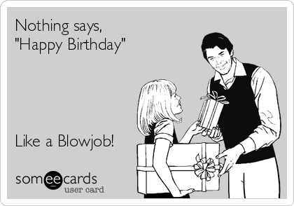 Teen blowjob for birthday long