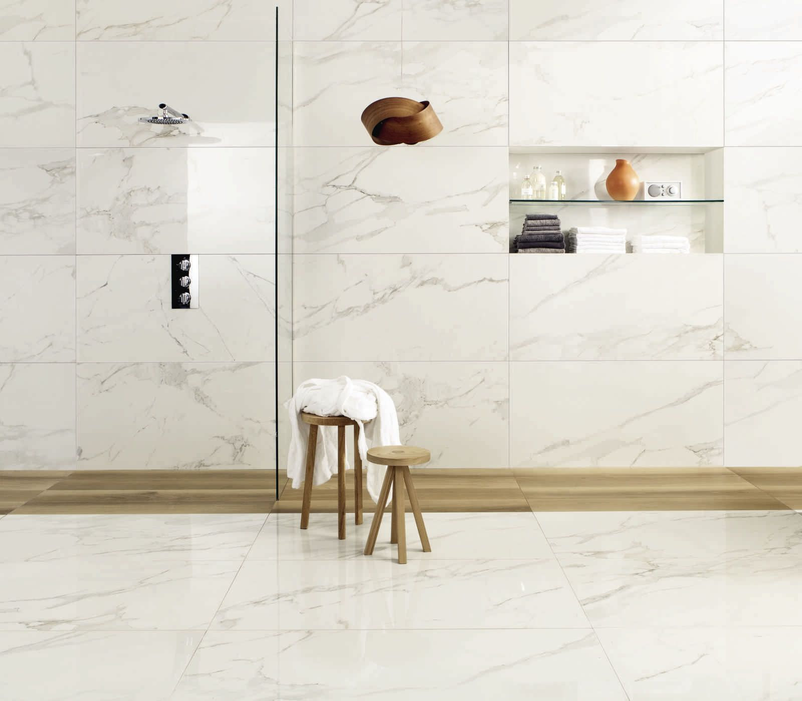 discover all the information about the product marble look tile floor for floors porcelain stoneware anima calacatta oro ceramiche caesar and find