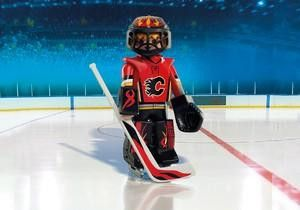 Playmobil Hockey LNH:Gardien des Calgary Flames - Castello   Jeux et Jouets