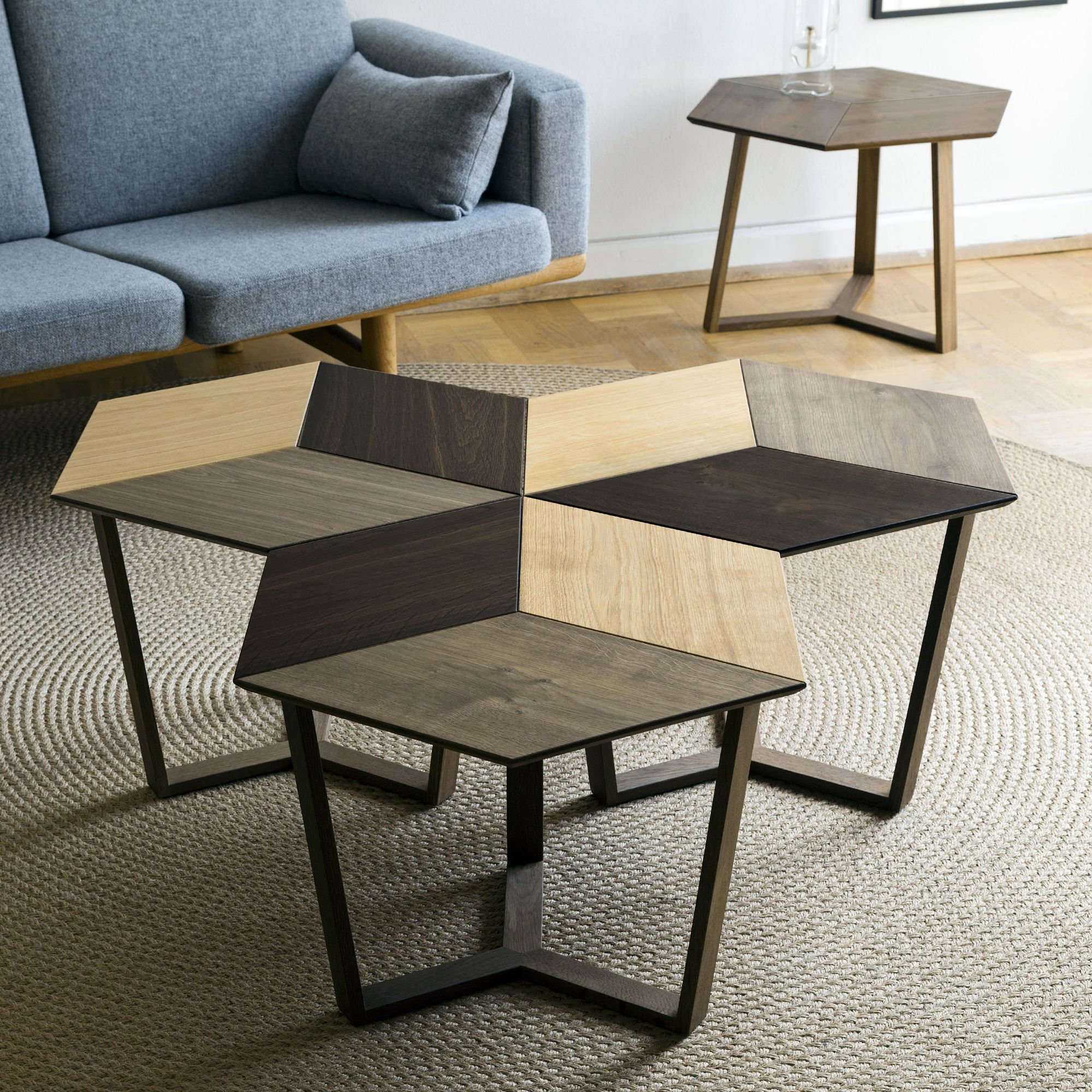 3 KANT coffeetable grouped together in 1 of many possible