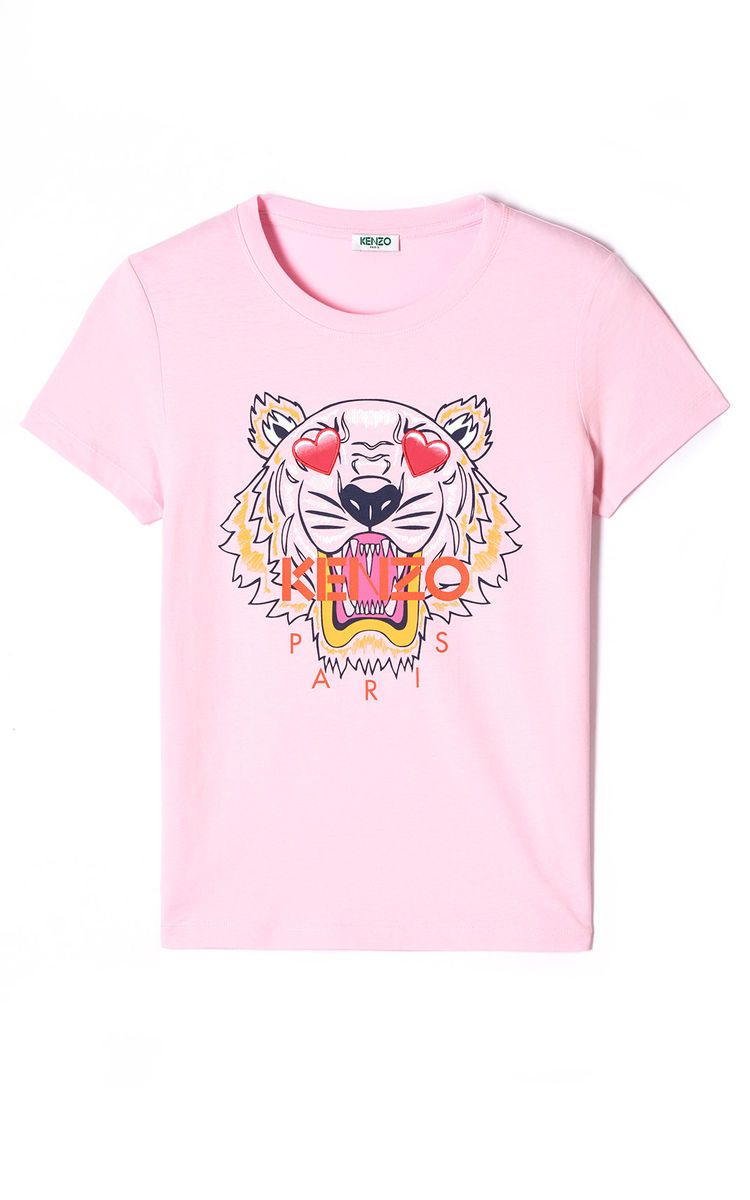59efd294fb FLAMINGO PINK 'Valentine's Day Capsule' Tiger t-shirt for women KENZO