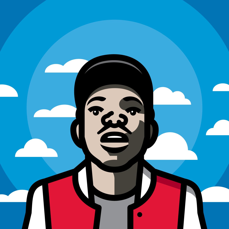 Stein Chance 10 Day Png Hip Hop Artwork Hip Hop Illustration Chance The Rapper