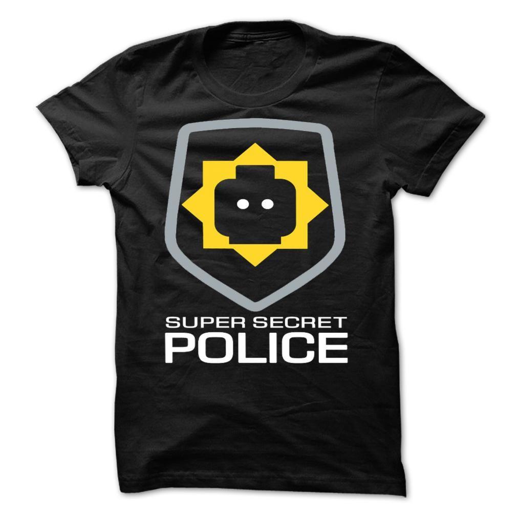 SUPER SECRET POLICE T SHIRT