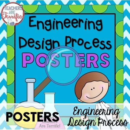 Tackle the engineering design process with kids also posters freebie stem pinterest rh