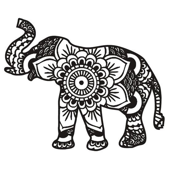 tribal animal coloring pages - photo#16