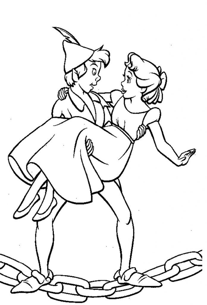 Free Printable Peter Pan Coloring Pages For Kids Com Imagens