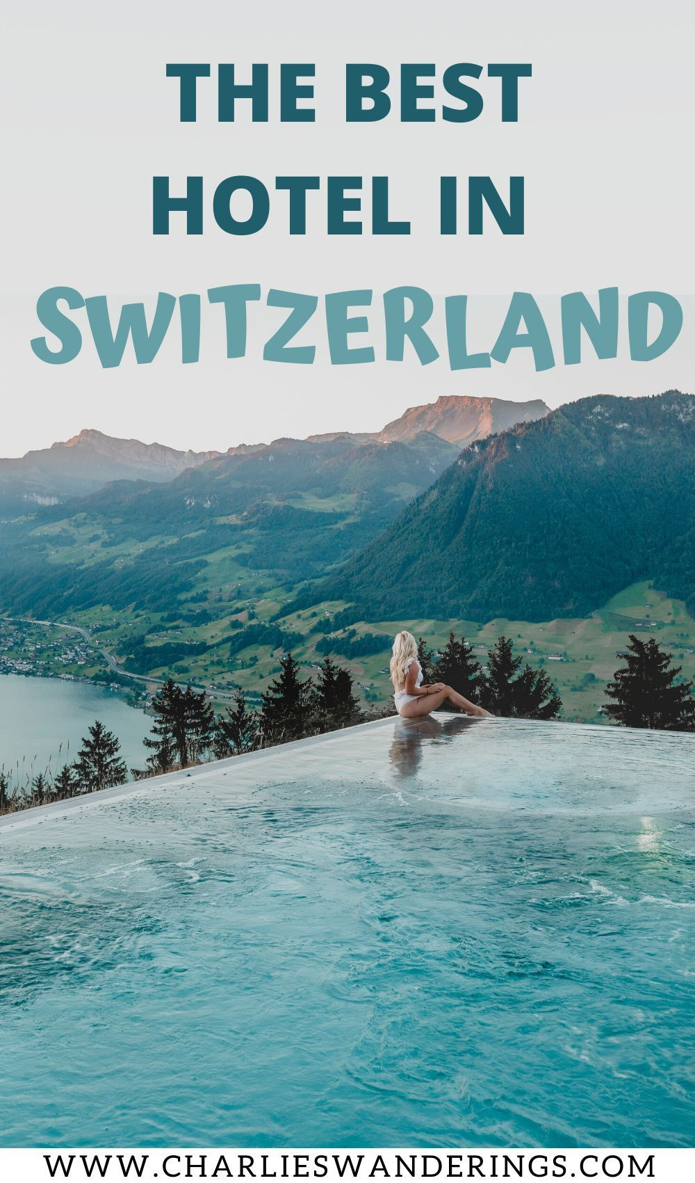 Best Hotel In Switzerland With Infinity Pool Staying At Villa Honegg The Best Boutique Hotel In Switzerland Charlies Wanderings In 2020 Switzerland Hotels Villa Honegg Best Boutique Hotels