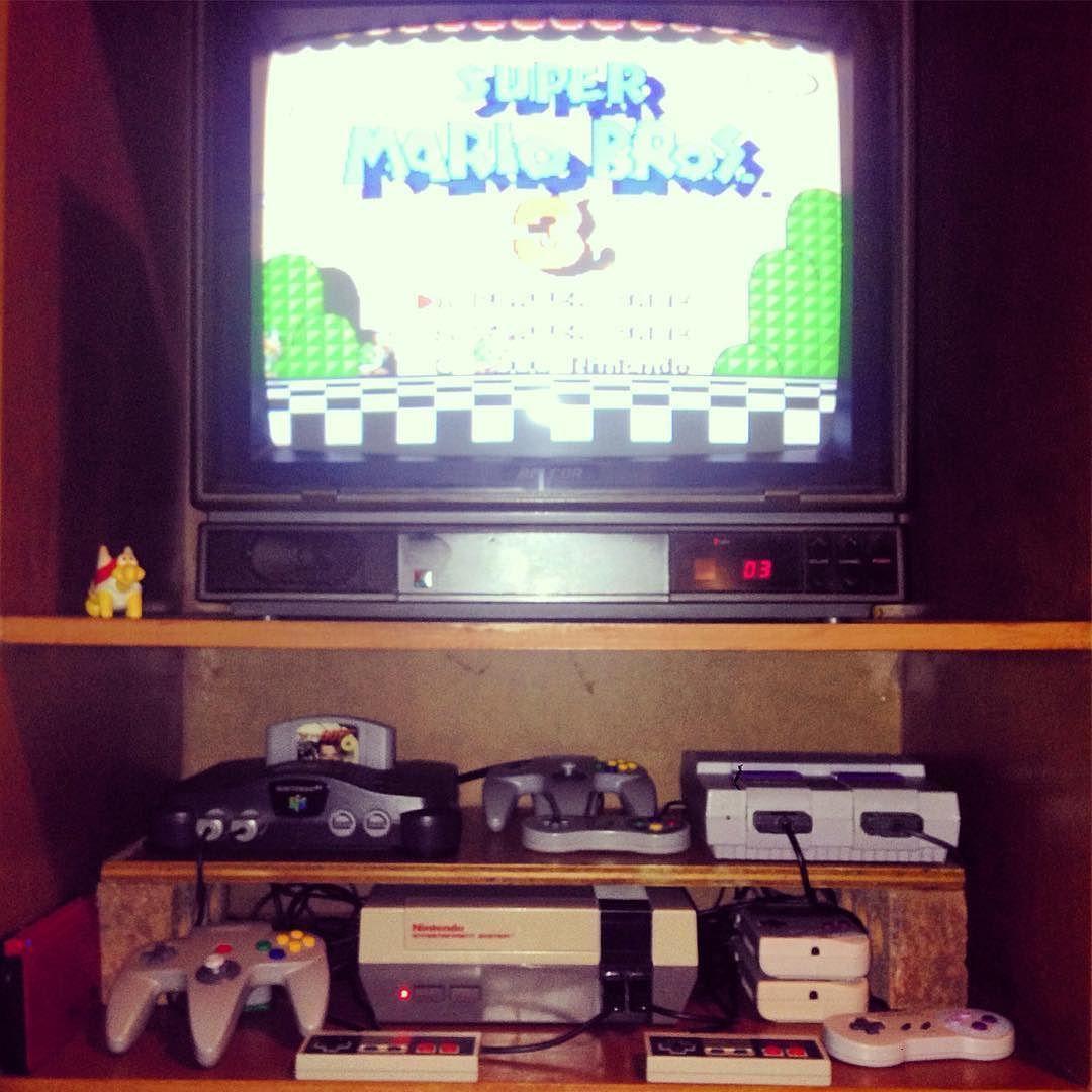 On instagram by nintendomiike #gameboy #microhobbit (o) http://ift.tt/1L0CHRo happy place. #Nintendo #Nes #SNES #N64 #Gameboy
