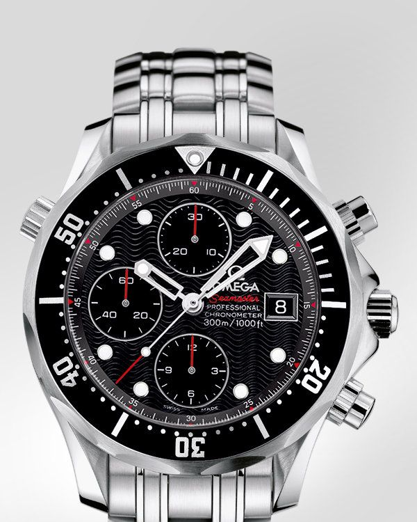 1d77d55c5c6 My every day go to - OMEGA Seamaster 300 M Chrono Diver - Steel on steel -  213.30.42.40.01.001