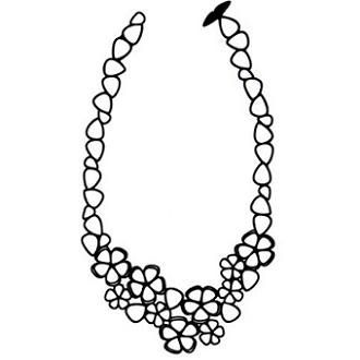 ms match: Batucada Sweet Flowers necklace (made from