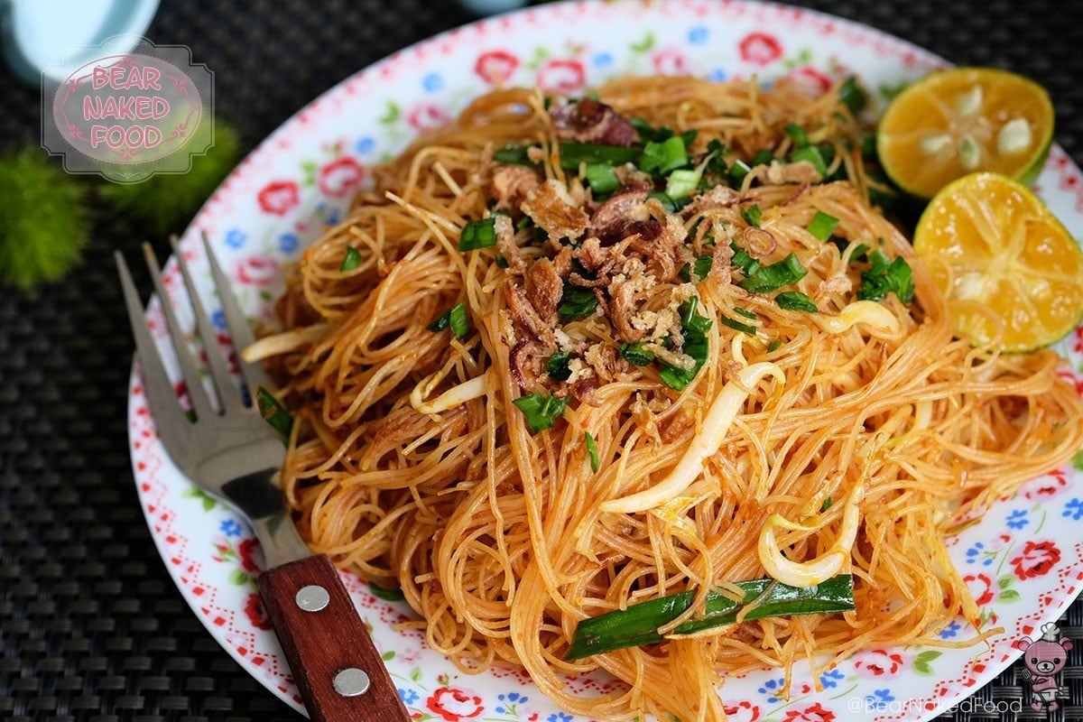 Fried Mee Siam Recipe Food, Asian cooking, Cooking recipes
