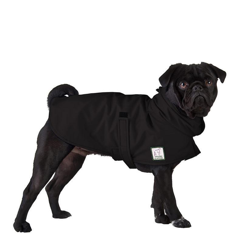 Pug Rain Coat Dog Raincoat Waterproof Dog Coats Pugs