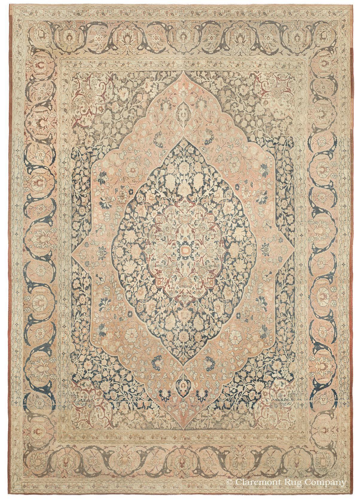Hadji Jallili Tabriz Antique Oriental Rug