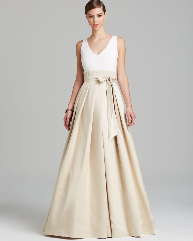 Wedding dress boxing  Long Dress with Box Pleats  Clothing  Pinterest  Box pleat skirt