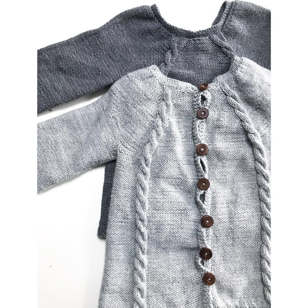 knapper bak genser klikk
