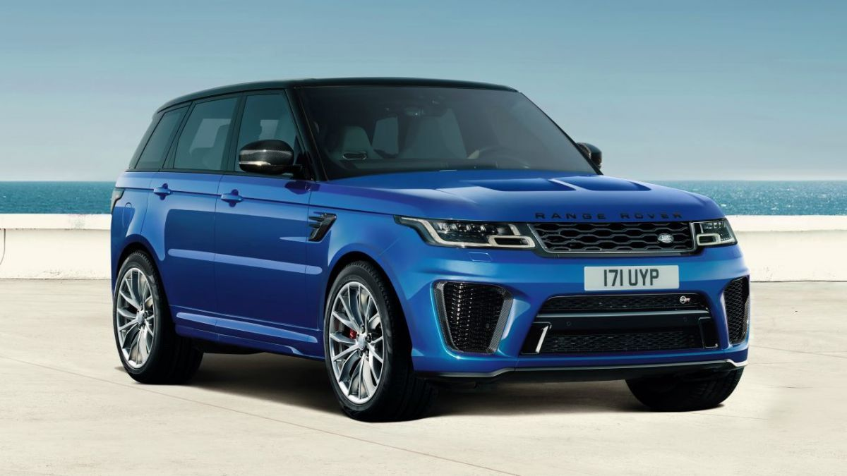 The augmented reality app for the 2019 Range Rover is