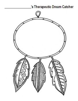 Therapeutic Dream Catcher Art Therapy Therapy Art Therapy